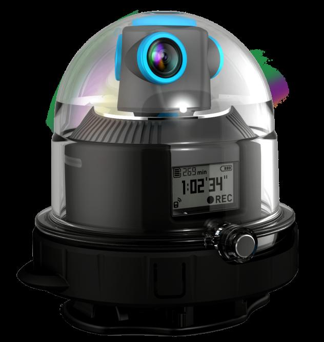 Geonaute动态捕捉摄像头:360度自由全方位拍摄