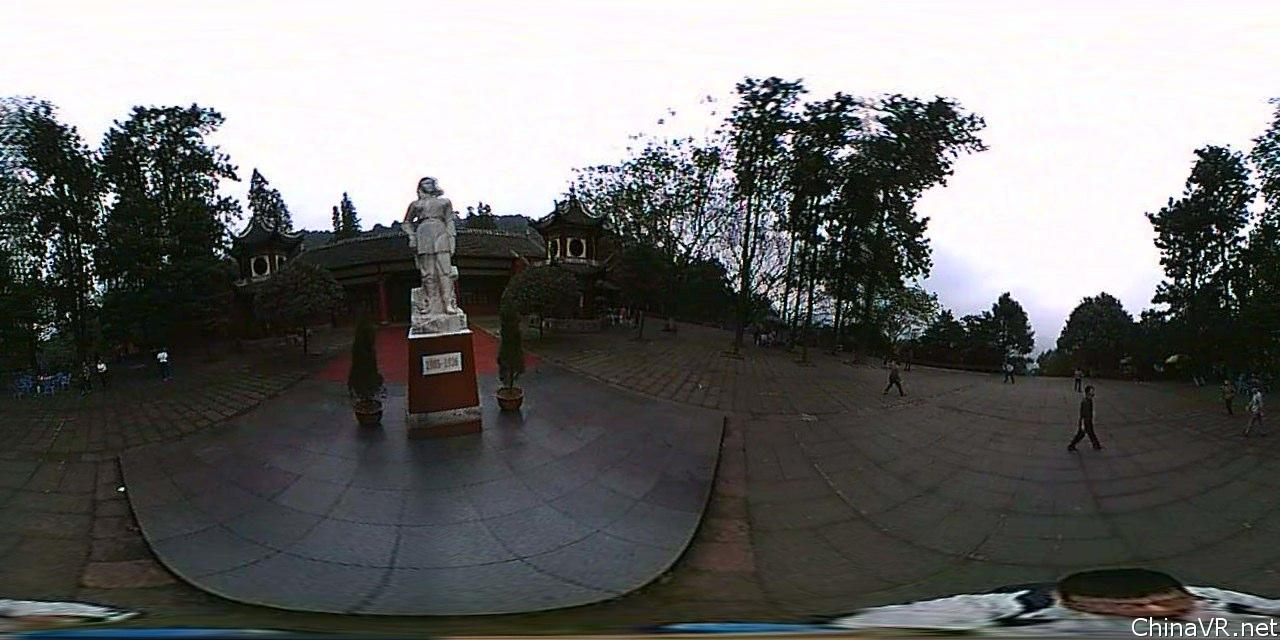 赵一曼纪念馆(傍晚)