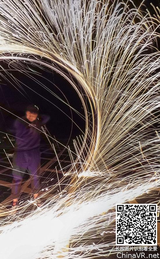 【最美烟火】酷炫钢丝棉现场